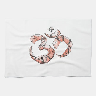 Om - the sound of the universe kitchen towels