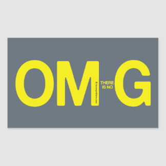 OM-there is no-G sticker
