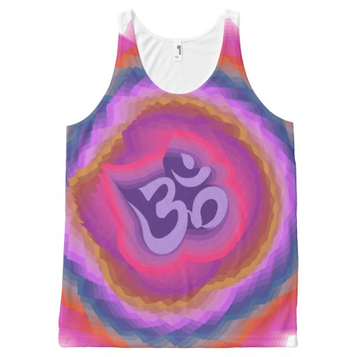 Om Vandana All-Over Print Tank Top