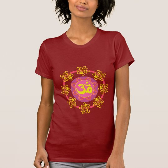 Om with Swirls and Colors! T-Shirt
