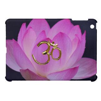 OM y la flor de loto iPad Mini Cárcasas