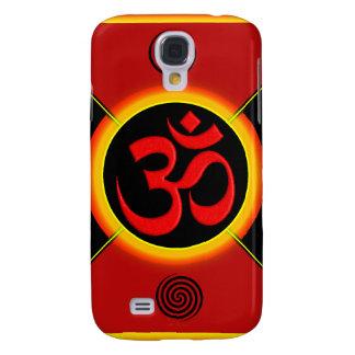 OM Yantra Red/Black/Gold Galaxy S4 Case