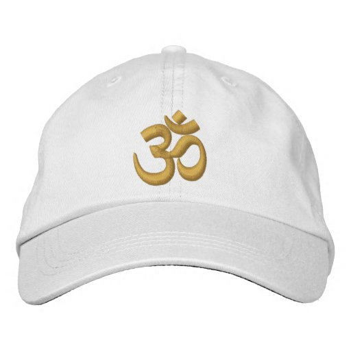 8aa79484a7e OM Yoga Chakra Gold or customize it Embroidery Embroidered Baseball ...