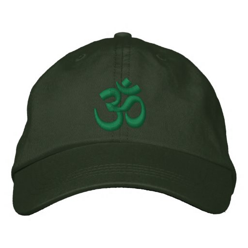 eb0c0647bb5 OM Yoga Chakra Green or customize it Embroidery Embroidered Baseball ...