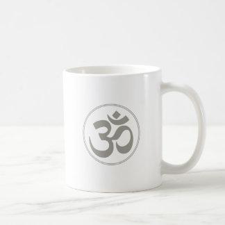 Om - Yoga Classic White Coffee Mug