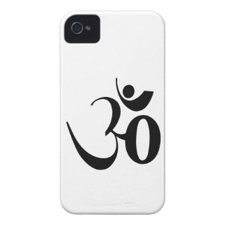 Om Yoga Mediation iPhone 4 Cases