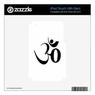 Om Yoga Meditation Skins For iPod Touch 4G
