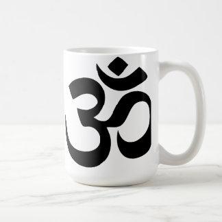 Om Yoga Classic White Coffee Mug