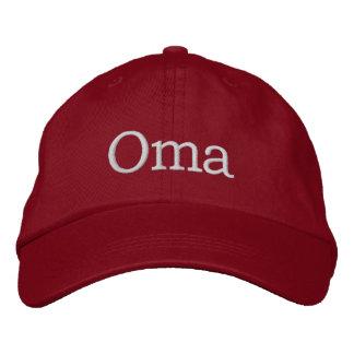 Oma bordó el gorra gorra de béisbol