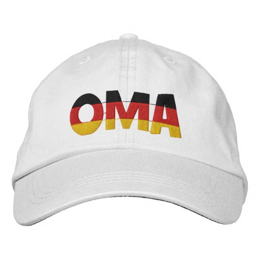 OMA Embroidered Cap
