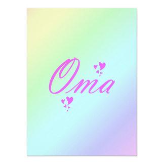 oma, grandma card