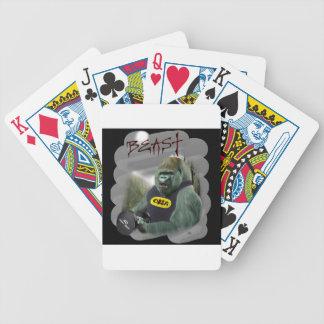 oma jungleg bicycle playing cards