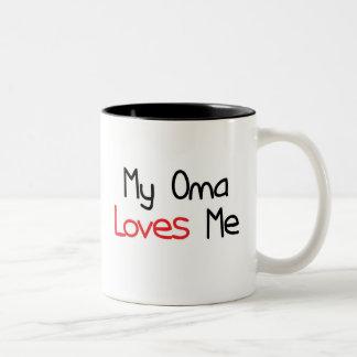 Oma Loves Me Mugs