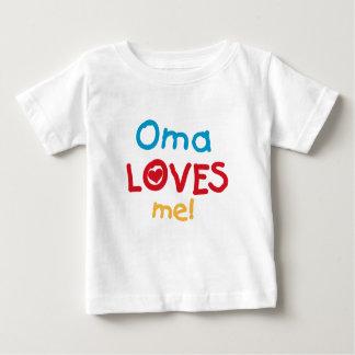 Oma me ama las camisetas y los regalos playera