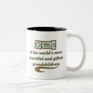 Oma of Gifted Grandchildren Mug