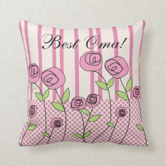 """Oma Pillow """"Best Oma!"""""""