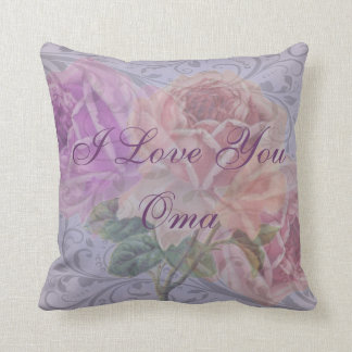 "Oma Pillow ""I Love You Oma"""