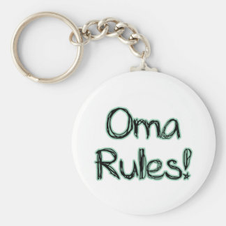 Oma Rules! Keychain