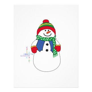 Oma Snowma Letterhead