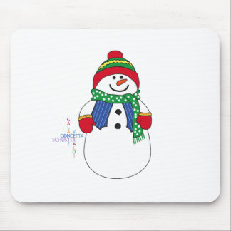 Oma Snowma Mouse Pads