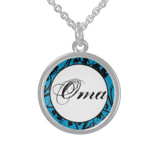 Oma Sterling Silver Necklace