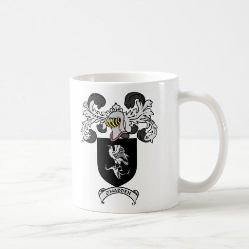 O'MADDEN Coat of Arms Mugs