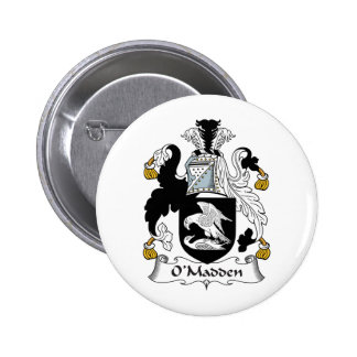 O'Madden Family Crest Pinback Button