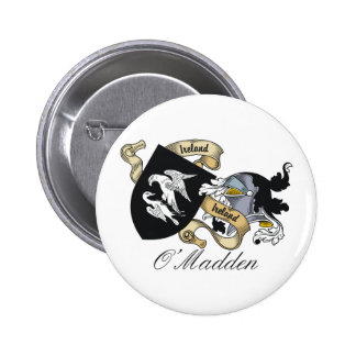 O'Madden Family Crest Pins