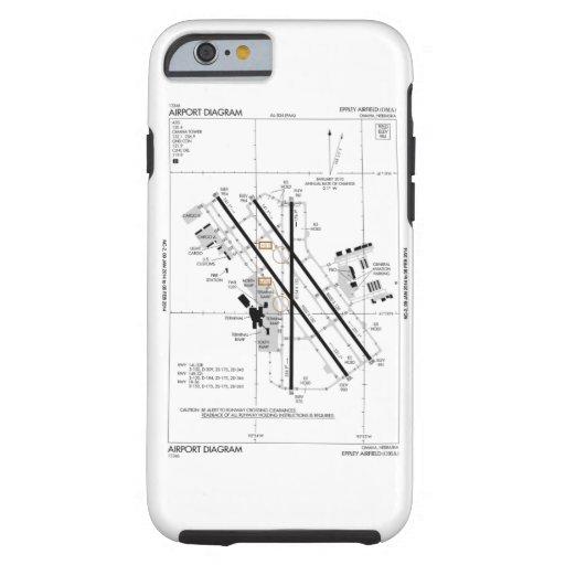 omaha airport diagram tough iphone 6 case