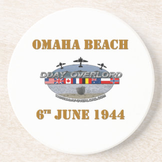 Omaha Beach 6th June 1944 Coaster