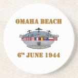 Omaha Beach 6th June 1944 Coasters
