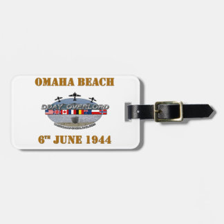 Omaha Beach 6th June 1944 Tag For Luggage