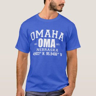 OMAHA CITY INCORPORATED COORDINATES TEE