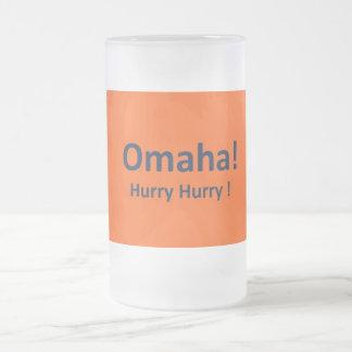 OMAHA Denver Broncos Frosted Beer Mug