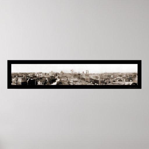 Omaha, foto 1914 del NE Poster