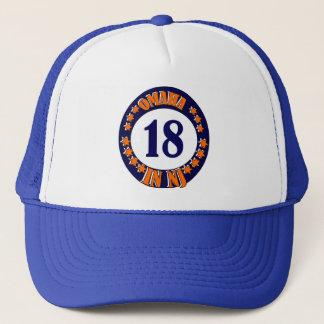 OMAHA IN NJ TRUCKER HAT