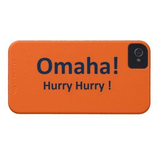 Omaha iPhone 4 Case for DENVER BRONCOS Fans