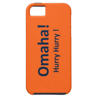 OMAHA iphone 5/5s Hard Cover Denver Broncos