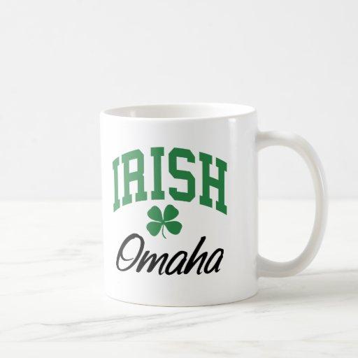 Omaha Irish Classic White Coffee Mug