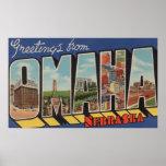 Omaha, letra ScenesOmaha, NE 2 de NebraskaLarge Impresiones