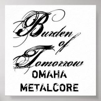 Omaha Metalcore Poster