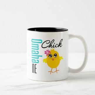 Omaha NE Chick Mugs