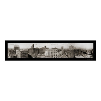 Omaha, NE Photo 1916 Poster