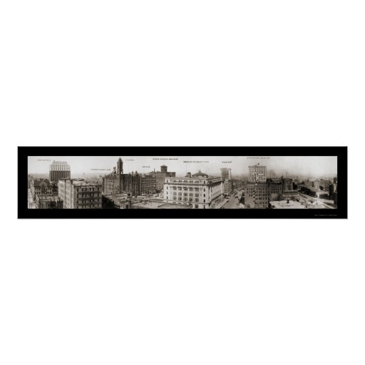 Omaha, NE Photo 1916 Print