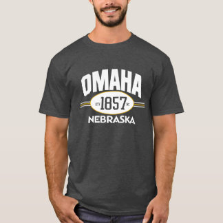 OMAHA NEBRASKA 1857 CITY INCORPORATED GRAPHIC TEE