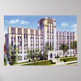 Omaha Nebraska Creighton University Poster