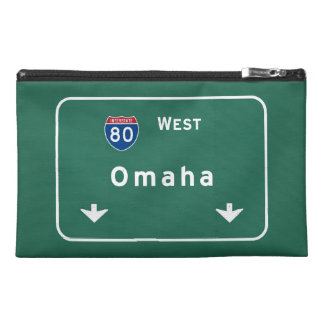 Omaha Nebraska ne Interstate Highway Freeway : Travel Accessory Bags