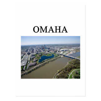 OMAHA nebraska Post Card