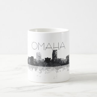 OMAHA NEBRASKA SKYLINE COFFEE MUG