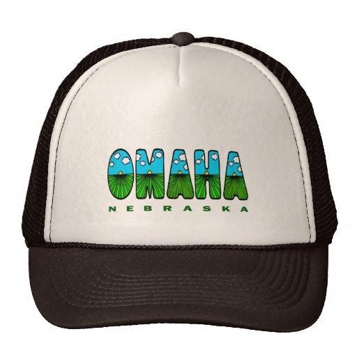 OMAHA NEBRASKA TRUCKER HAT